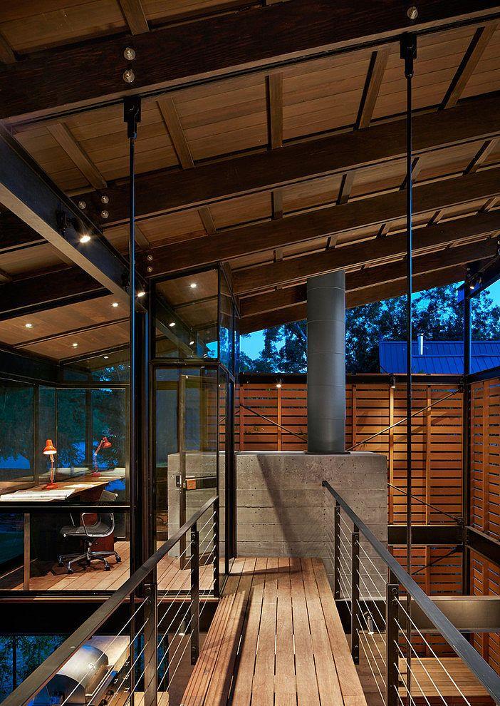 Hog Pen by Lake   Flato Architects