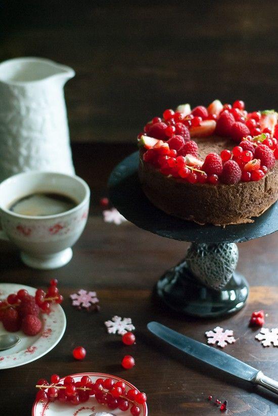 Japones Baños Del Carmen:Que delicia este Cheesecake Japonés de Chocolate!! Lo llevé a una