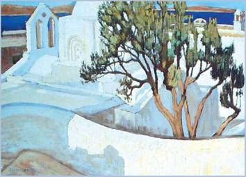 Konstantinos Maleas ( Istanbul, 1879 - Athens, 1928) was one of the most important Post-impressionist Greek painters of the 20th century.