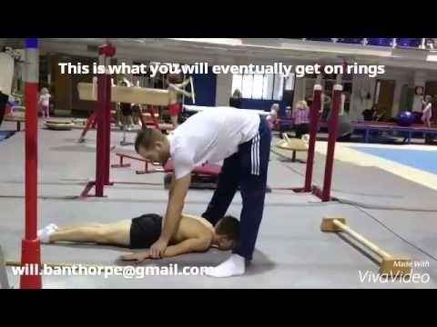 Developing Rings Strength for Juniors