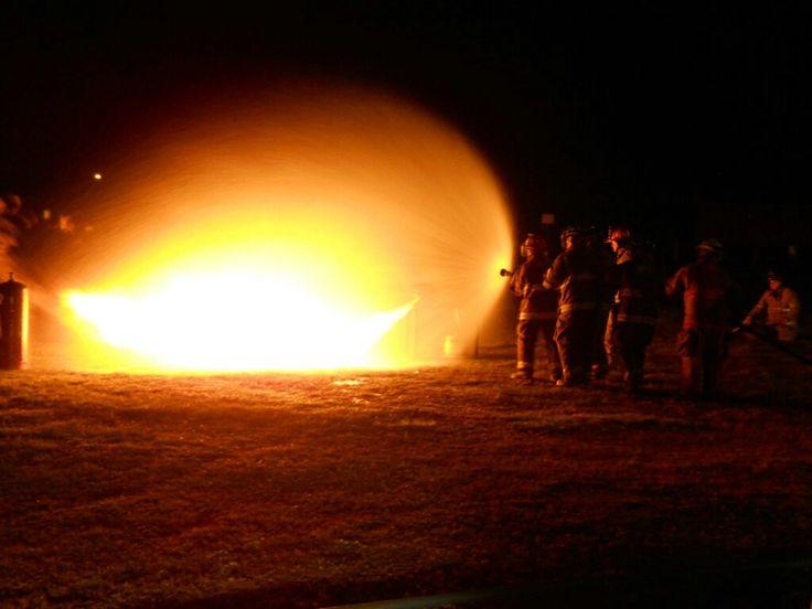 My fire training