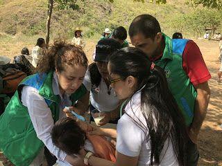 ICBF rescata niños enfermos en la Sierra Nevada