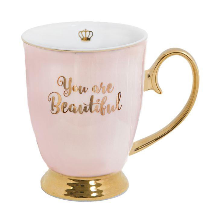 You are Beautiful 'Words of Wisdom' Mug