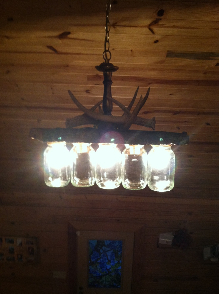 masons hubby chandeliers forward my hubby made this chandelier out of