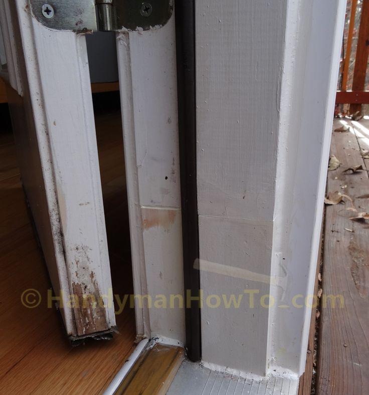 Best 25 door frame repair ideas on pinterest doorway - How to repair a rotted exterior door frame ...