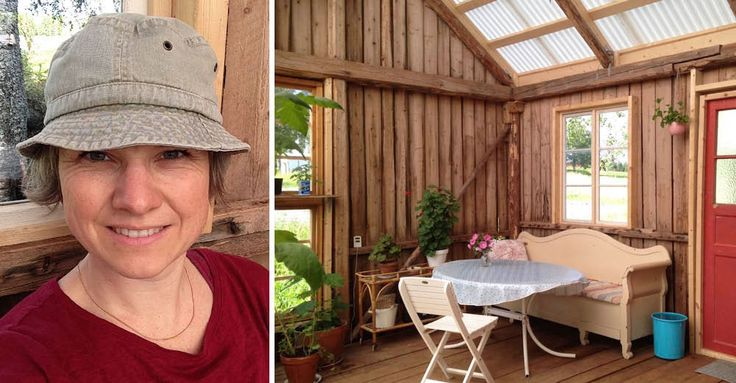 Snickaren skrattade åt Mias idé! Kolla hennes supersmarta bygge | LAND.se