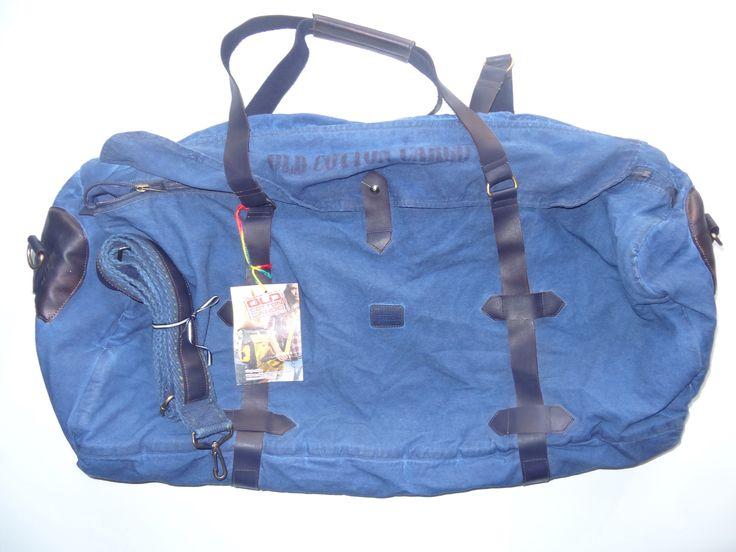 Old Cotton Cargo Bag - BAG#27 (69,- €)