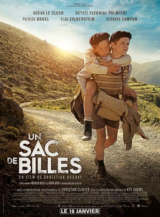 "♥♥♥♥ ""Un sac de billes"", un drame de Christian Duguay avec Dorian Le Clech, Batyste Fleurial, Patrick Bruel, Elsa Zylberstein... (01/2017)"