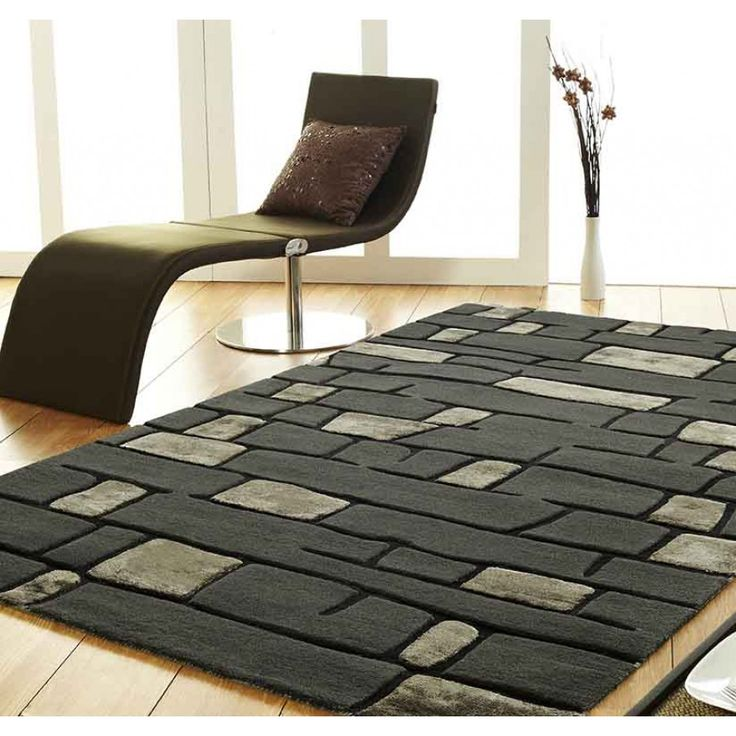 Fortress Stripe Design Unique Rug by Ultimate Rug Made from resilient and long-lasting wool and viscous with leather materials, our Fortress Stripe Design Unique Rug by Ultimate Rug is ideal for keeping your feet warm from the chilly wooden or laminate floors. #woolrugs #modernrugs #luxuriousrugs