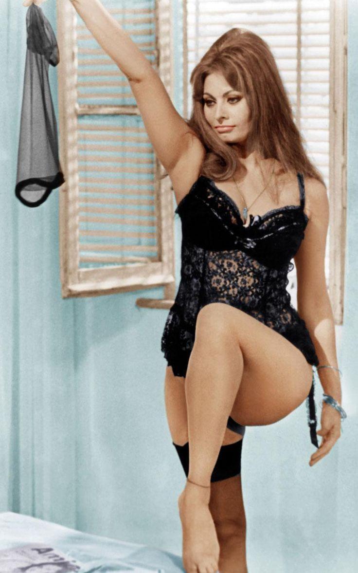 Sophia Loren in Yesterday, Today and Tomorrow 1963