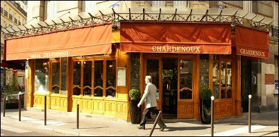 Restaurant Le Chardenoux...  celebrity chef Cyril Lignac's take on classic bistro fare.