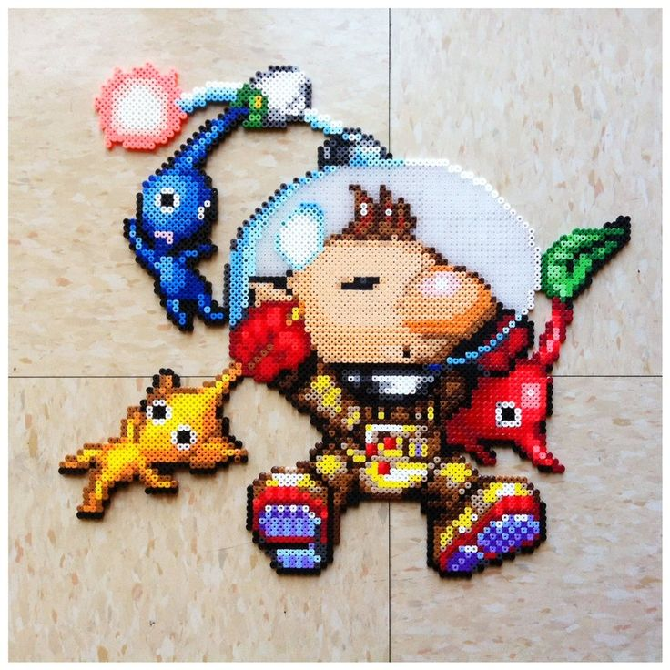Pikmin and Olimar by ~Night-TAG on deviantART