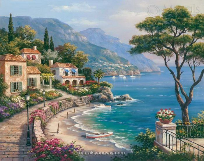 gallery for gt tuscan wall murals