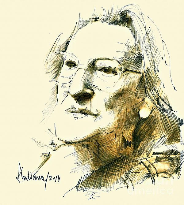 Nina Cassian Portrait