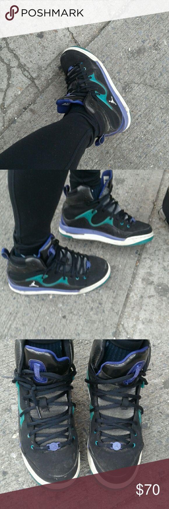 jordans black, purple and green jordans 2014 Jordan Shoes Sneakers