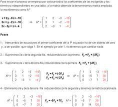 Discusión y Resolución aplicando Gauss.