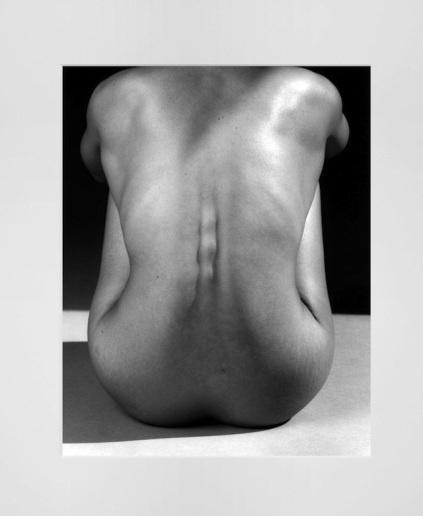 """Robert Mapplethorpe, """"Lydia Cheng / Back"""", 1987. © Cortesía de Galería Mai 36."""