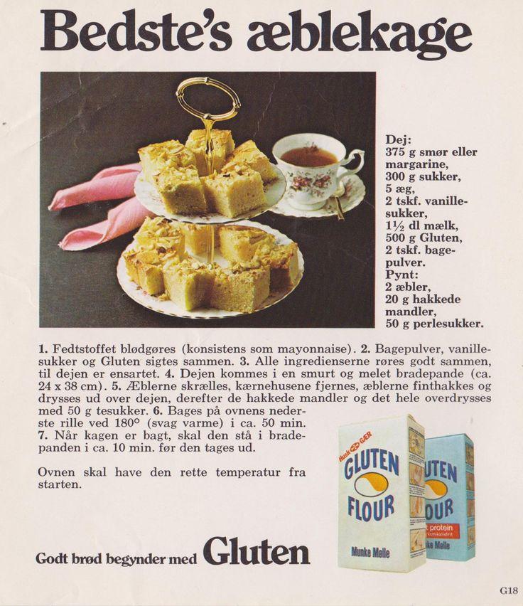 Bedste's Æblekage...