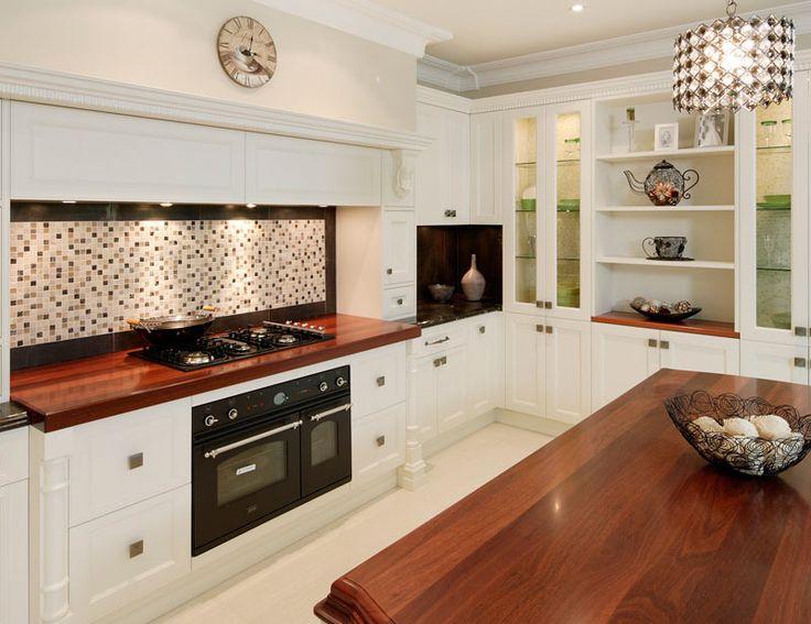 french provincial kitchen splashback