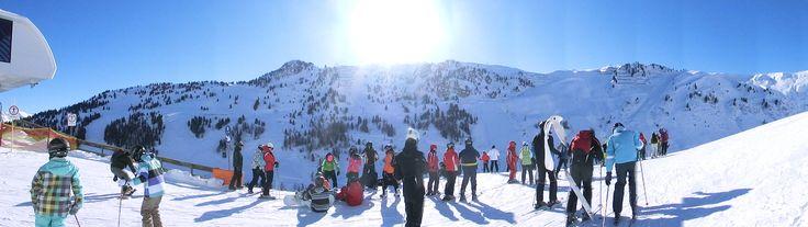 Kto lubi poszaleć na nartach ?