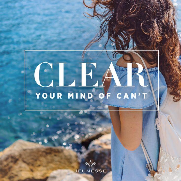 Clear you mind of can't. -  https://amroud.jeunesseglobal.com/en-US/