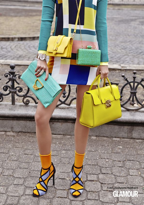 Színes táskából sosem elég! It can't be repeated enough. It's time for some new, colorful, lovely bags!
