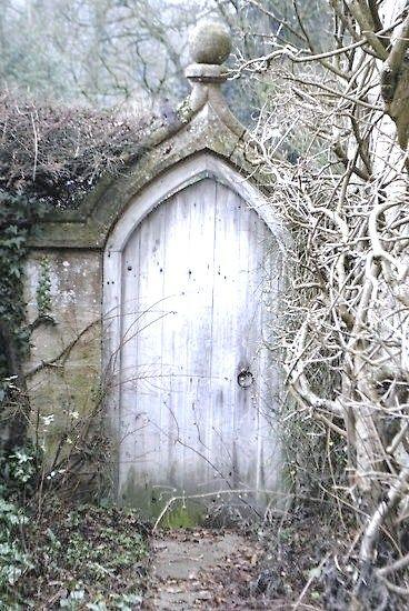 """Deze deur geeft voor mij heel erg het gevoel weer van """" het geheim"""""""