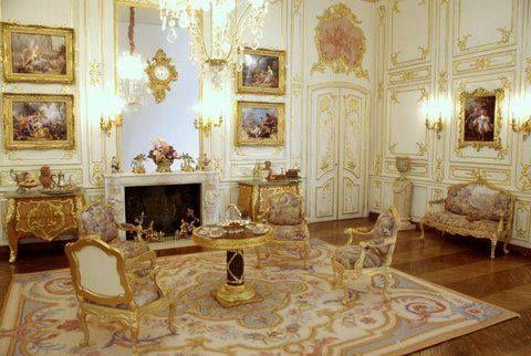 Miniature Baroque Style Salon