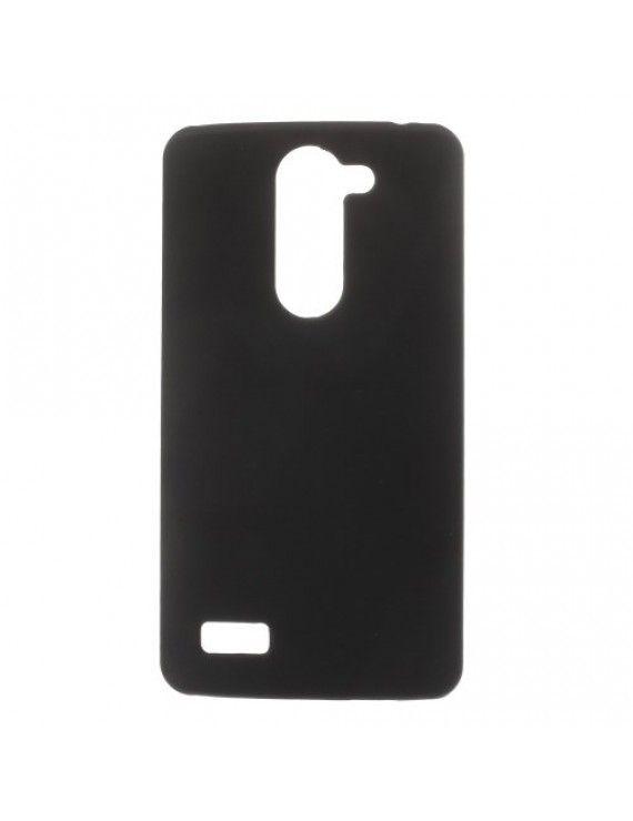 Σκληρή Θήκη από Καουτσούκ για LG L Bello D331 D335 - Μαύρο