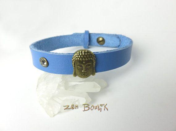 Bracelet Homme Cuir Zen Bouddha Bracelet Homme par ZenBoutik