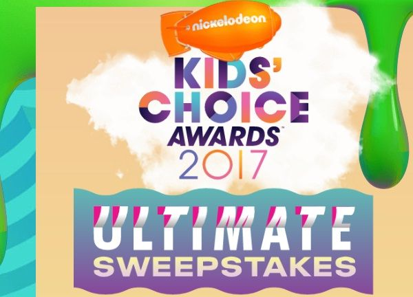 Enter for a chance to win free trip to attend 2017 Kids' Choice Awards at Los Angeles.  #Sweepstakes #Daily #KidsChoiceAwards #Tickets #Trip