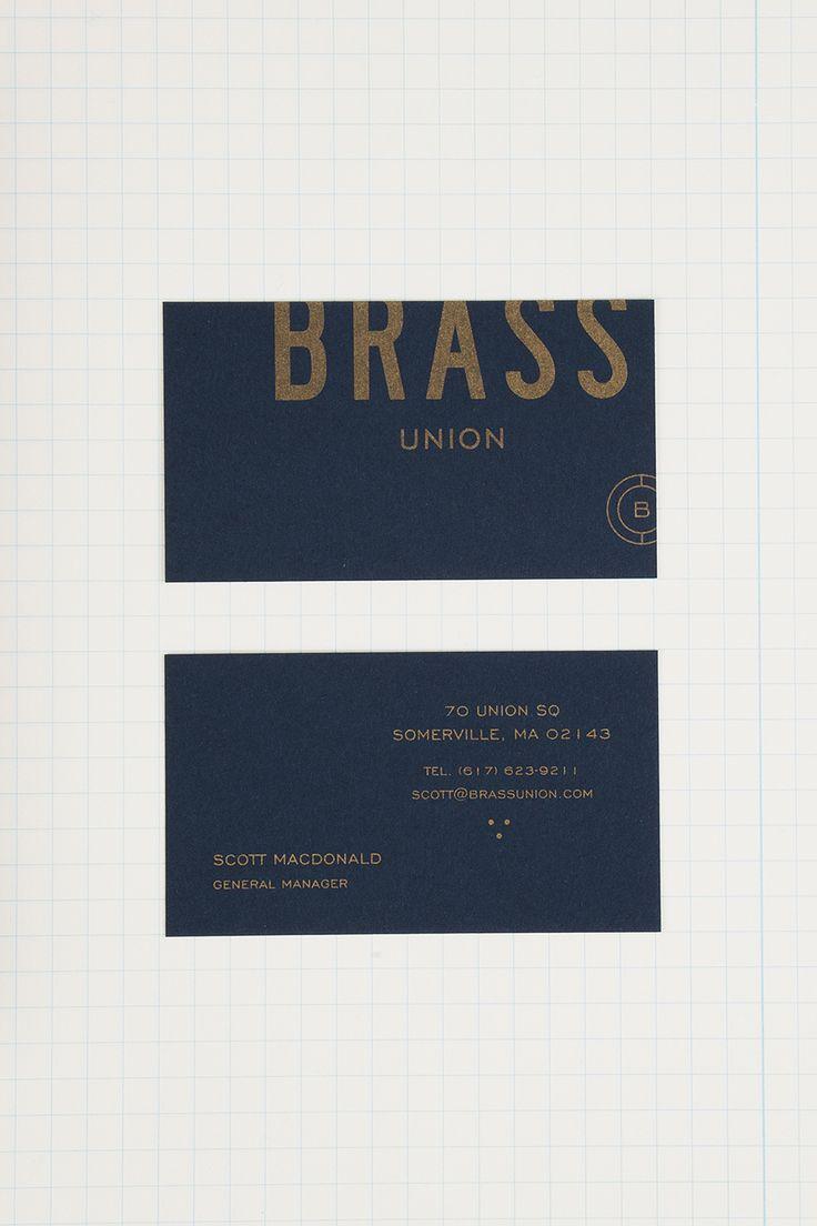Brass Union designed by Oat