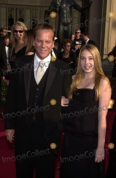 Kiefer Sutherland Daughter | Kiefer Sutherland Photo - Kiefer Sutherland and daughter Sarah Jude at ...
