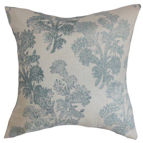 The Pillow Collection Zain Damask Bedding Sham Camel Euro//26 x 26