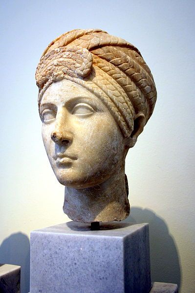 File:1627 - Archaeological Museum, Athens - Roman head of a woman- Photo by Giovanni Dall'Orto, Nov 11 2009.jpg