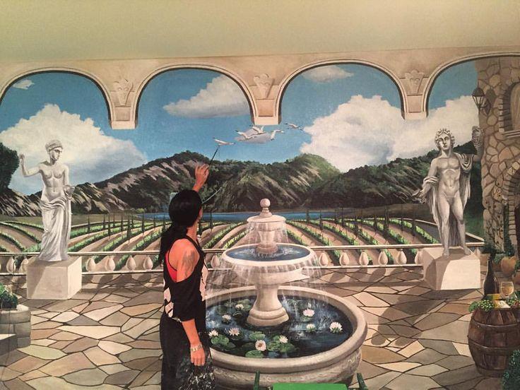 Work in progress #artdenisova #art #wall #tampa #Miami #Florida #usa #surrealism #italy #живопись #искусство #сюрреализм #тампа #майами #Флорида #италия #стена #salfy