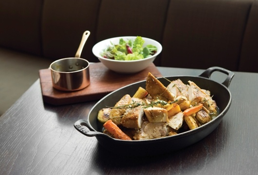 Thirlmere Free Range Corn Fed Chicken, Cajun & Herb Spiced from Salt grill by Luke Mangan.