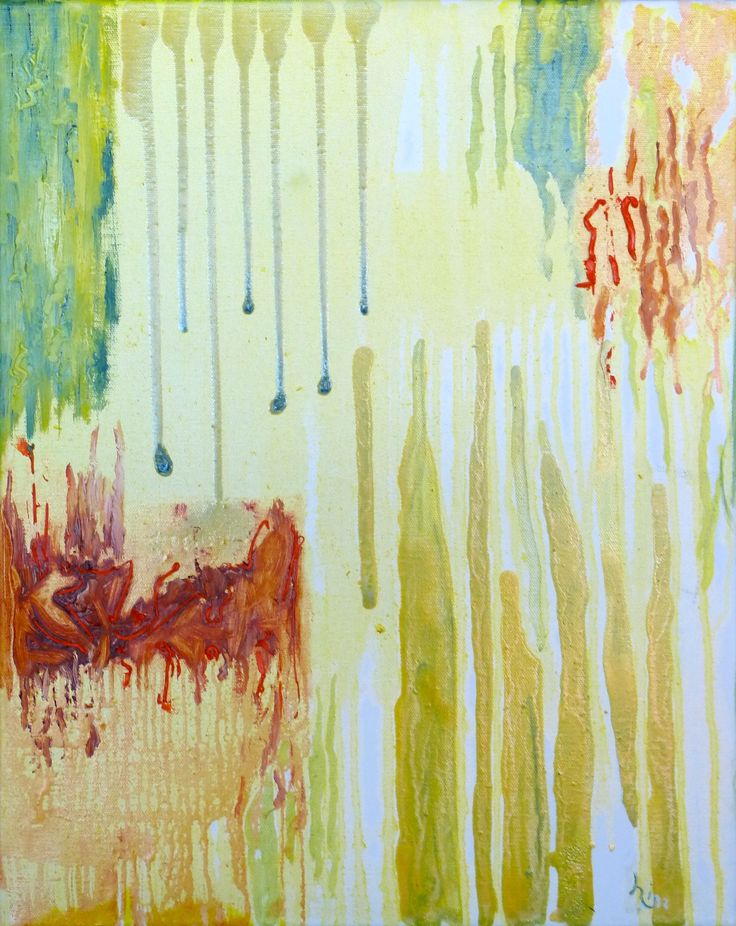 """Orange Hues"", Oil glazes, 18"" x 24"", $300.00"