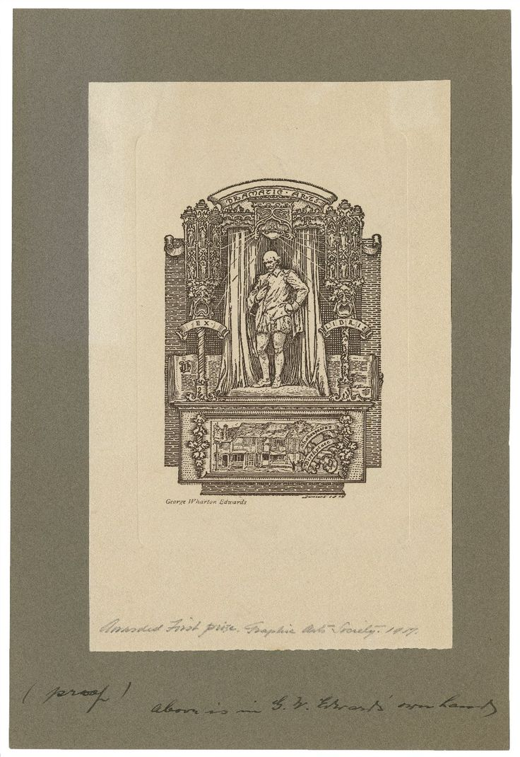 Image result for George Wharton Edwards ex libris