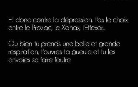 Dépression...