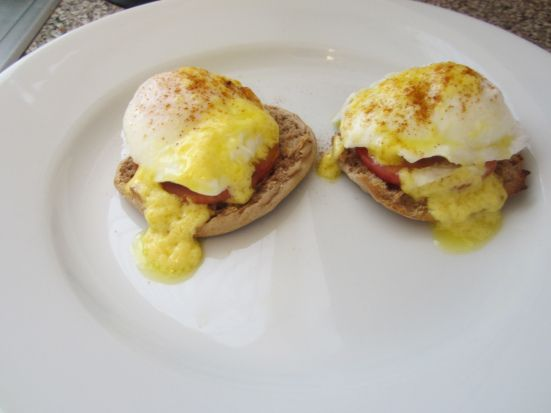 ... baked eggs benedict recipes dishmaps baked eggs benedict recipes