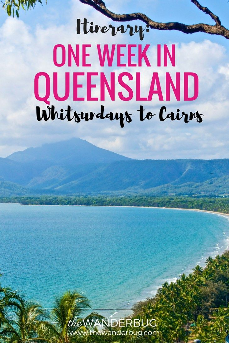 One Week in Queensland Itinerary