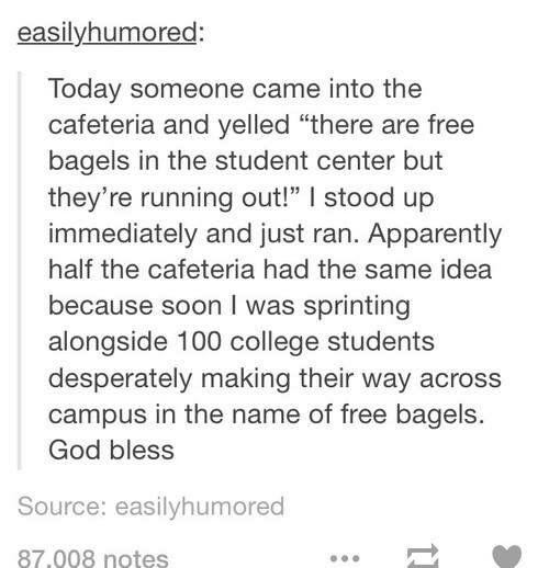 Free bagels!!!