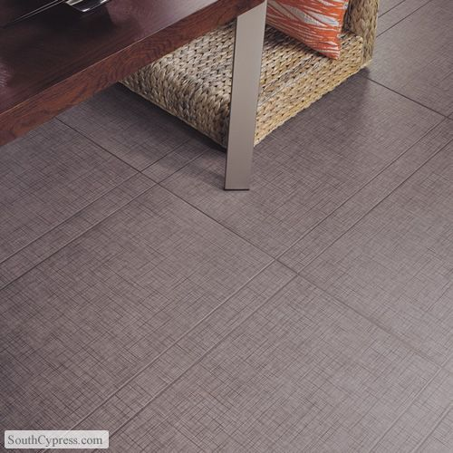 Kimona Silk Water Chestnut featured on the Tile With Fabric Prints page from South Cypress.  Silk Look Tile