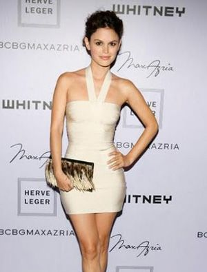 Herve Leger White Dress - Bandage Evening Sling Halter Section $125.29