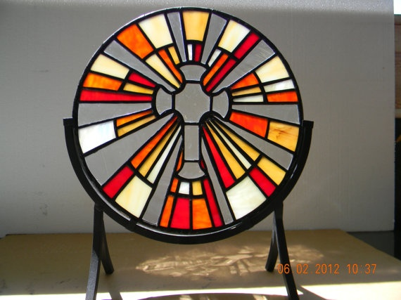 21 Best Images About Stained Glass Deco Sunburst On