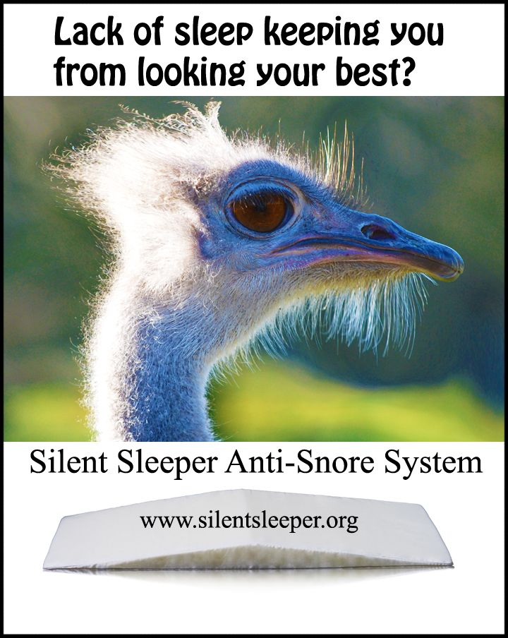 Get the Silent Sleeper Anti-Snore System instead. www.silentsleeper.org