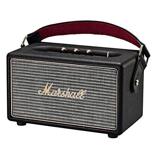 Marshall Kilburn Portable Bluetooth Speaker, Black (40911...
