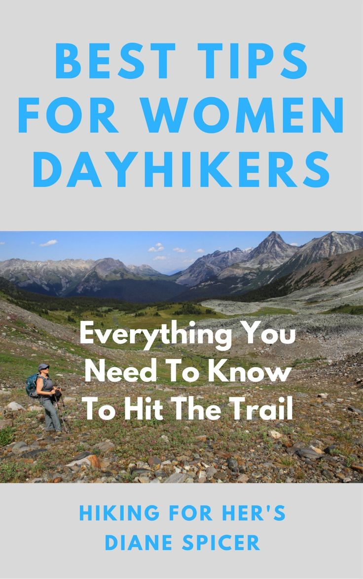 Female hiker hygiene is not something everyone discusses - unless you're lucky enough to have a female hiking group. Here are a few tips.