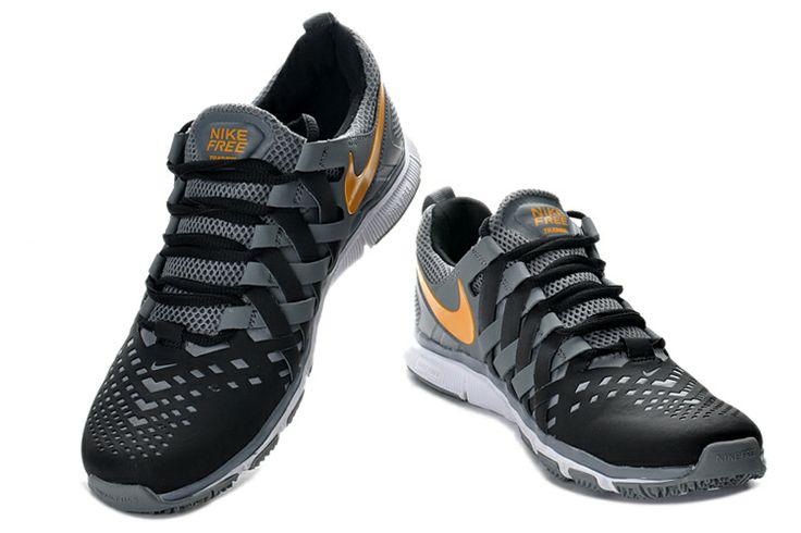 Nike Free Trainer 5.0 Menn Svart Grå Orange €44.99
